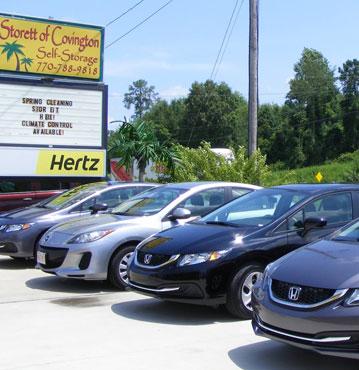 Hertz car rentals in Covington GA